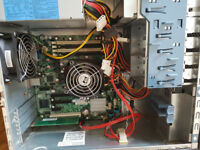 HP ProLiant ML115 with AMD Opteron 1352 - 2.1GHz Quad-Core server