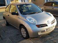Nissan Micra 1.0 Cheap Insurance.. 12 Months MOT