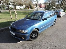 BMW 330D M SPORT TOURING -AUTOMATIC-FULL SERVICE HISTORY-RECON GEARBOX-SWIRLFLAPS BLANKED-TOWBAR