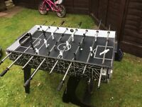 £15 only for football teable,ping pong tyeable and snooker