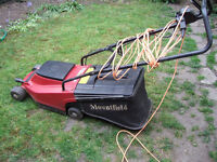 "Mountfield Princess 14"" electric rotary lawnmower - charity sale"