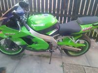 Zx9r excellent condition....low milage