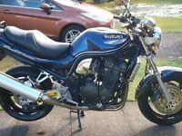 Suzuki Bandit 1200, one of the early models, very clean original bike,