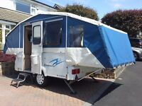 2005 riva dandy dimension folding camper / trailer tent