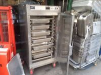 SECOND HAND HOT HOLDING FOOD WARMER HOT KEEPING TOWER UNIT CATERING COMMERCIAL CANTEEN BBQ KITCHEN