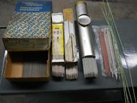 VARIOUS WELDING ELECTRODES - RODS – STICKS