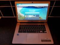 Acer Gold Google chrome laptop