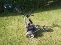 Stowamatic Electric Golf Trolley
