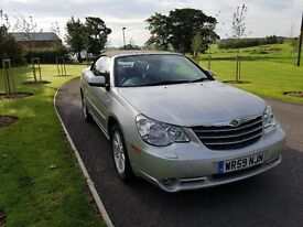 HERE FOR SALE IS A RARE CHRYSLER CABROLET FOR SALE..31000 MILES ,LOOKS STARTS AND