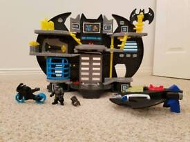 Imaginext Batcave and batwing