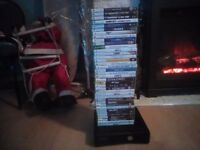 Xbox 360 with 38 games