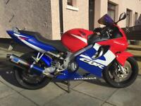 For Sale 2001 Honda CBR600F Motorbike