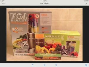 **NUTRI BULLET**  PRO 900W - 9PCE + 5PCE ADD-ON + NATURAL HEALING BOOK Campbelltown Campbelltown Area Preview