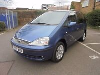 2005 (55) FORD GALAXY ZETEC 1.9 TDDI MPV 7 SEATS 6 SPEED MANUAL