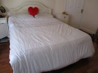 FREE KING SIZE BED WITH HEADBOARD