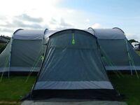 Outwell Idaho XL Family Tent inc footprint, carpet & kids pod