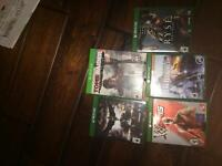 Xbox one games for sale/trade