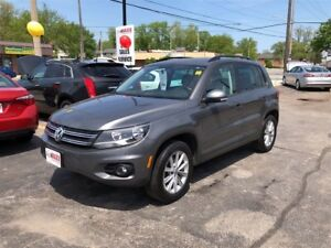 2014 Volkswagen Tiguan Highline- PANORAMIC SUNROOF, LEATHER HEAT