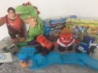Kids toys, mixed bag full