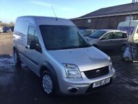 2011 FORD TRANSIT CONNECT TRENDY MODEL 1 OWNER FROM NEW WELL MAINTAINED LONG WHERLBASE HIGHTOP MOT
