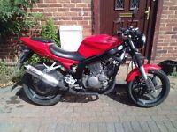 2008 Hyosung GT Comet 125 motorcycle, new 12 months MOT, Scorpion exhaust, bigger than cbf ybr ,,,