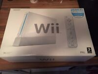 BOXED NINTENDO WII & GAMES