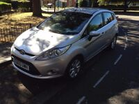new shape Ford Fiesta zetec tdci 70 fuel economy £10 -100 miles cheap give-a-1-month-warranty