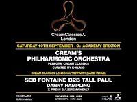 Cream Classics 02 Academy Brixton less than face value 10 September