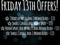 Friday 13th offers!