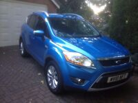 Ford kuga titanium 4wd 4 x 4 tdci part leather 2010 10 private FINAL REDUCTION , NO CANVASSERS
