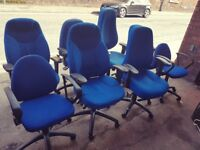 Office Chair in Blue colour, 8 available