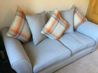 DFS Sofa Bed and Two sets of cushions