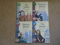 Used, History of Britain Books x 8 - never used for sale  Gloucestershire