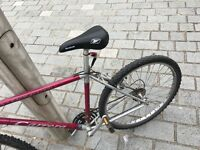 Bike with lights