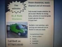 Man with a van (B.L.E Waste clearances