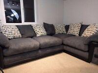 As New...Large Corner Sofa