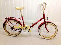 Red Bike Vintage Shopper 3 Speed