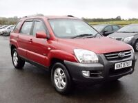2007 Kia sportage XE 2.0 diesel 6 speed manual, motd sept 2018 tidy example all cards welcome