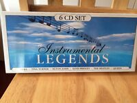 "BRAND NEW - BOXED SET OF 6 CD'S TITLED ""INSTRUMENTAL LEGENDS"""