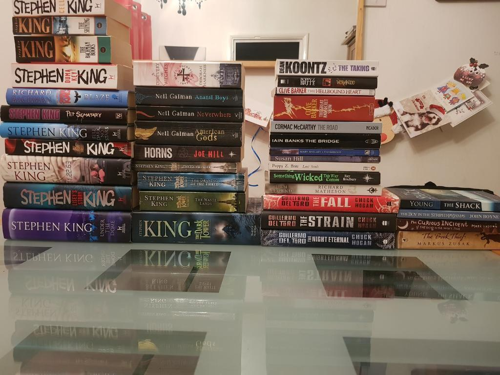 Horror/Fantasy Collection 27 Books plus extras