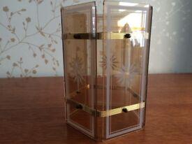 Ceiling Light Glass Shade (Amber)