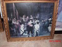 The Nightwatch framed print,Rembrandt Van Rijn.