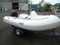 RIB PACKAGES BOAT ENGINE TRAILER FROM £5999 - NEW FULL WARRANTY