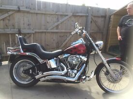 Harley Davidson FXSTC Softail Custom Screaming Eagle 1600cc