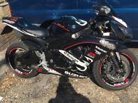 RARE RELENTLESS SUPER BIKE RACE REPLICA GSX-R 2009 MODEL IN FANTASTIC CONDITION WITH F.S.H