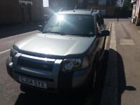 LAND ROVER FREELANDER 1.8 SE (Green) Exceptional car, Drives, handles, feels perfect. With history