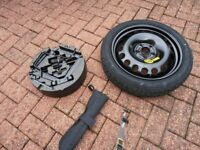 Spare wheel off Astra.