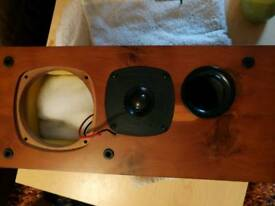 Castle Tay speakers for parts, tweeter