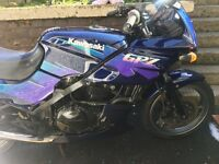 Kawasaki GPZ 500. Very reliable and clean for age. Can be delivered