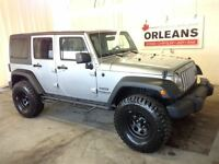 2014 Jeep WRANGLER UNLIMITED 33.5 TIRES DUAL TOPS AUTO POWER